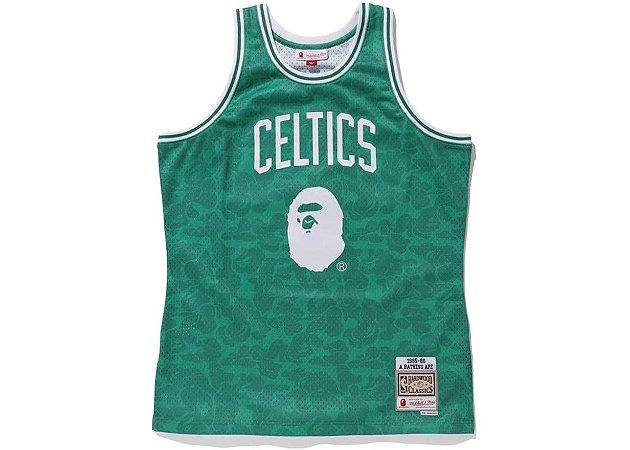 "Bape x Mitchell & Ness - Regata Swingman Celtics ""Green"""