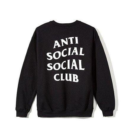 """ANTI SOCIAL SOCIAL CLUB - Moletom Mind Games """"Black"""""""