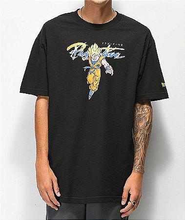 "Primitive x Dragon Ball Z - Camiseta Nuevo Goku Saiyan ""Black"""