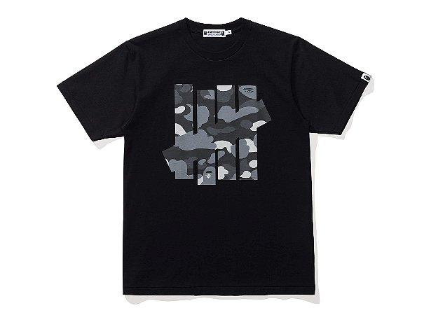 "Bape X UNDFTD - Camiseta Camo Big Ape Head ""Black"""