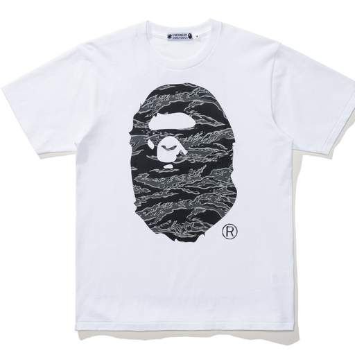 "Bape X UNDFTD - Camiseta  Camo Big Ape Head ""White"""