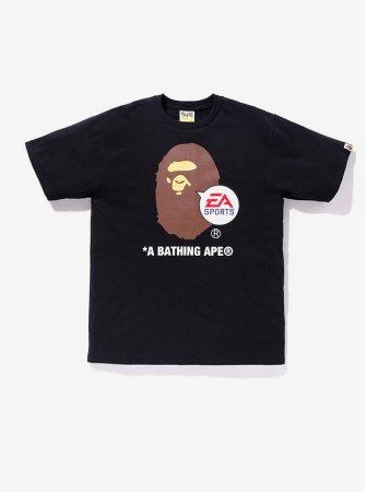 "Bape x EA Sports - Camiseta Big Ape Head ""Black"""