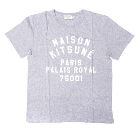 "Maison Kitsune - Camiseta Palais Royal ""Grey"""