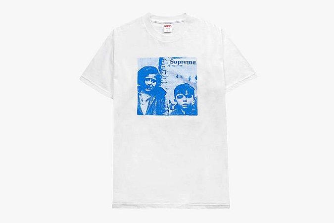 "Supreme x Hypebeast - Camiseta 10th Anniversary ""White"""