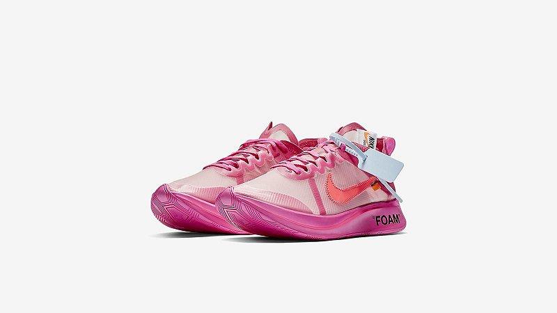 "ENCOMENDA - Nike Zoom Fly Off-White ""Pink"""
