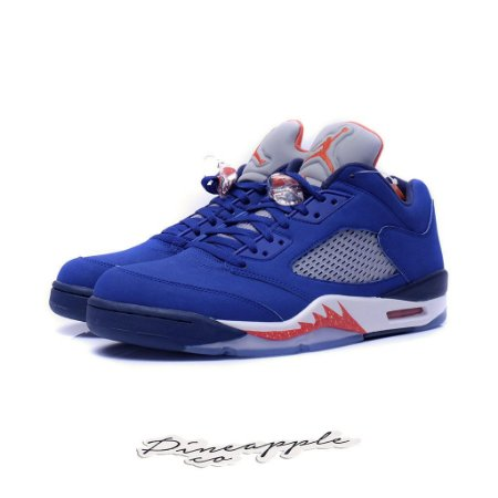 "Nike Air Jordan 5 Retro Low ""Knicks"""