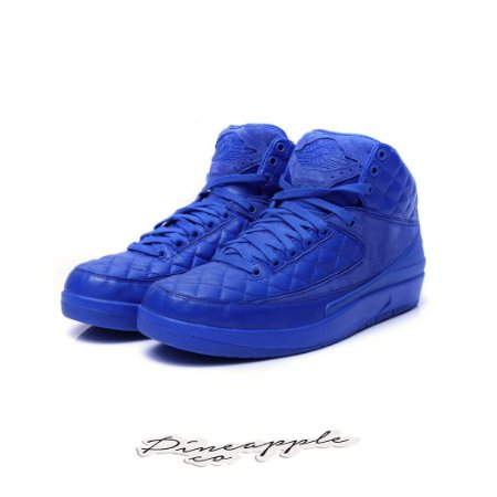 "Nike Air Jordan 2 Retro x Just Don ""Blue"""