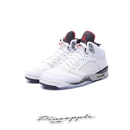 "Nike Air Jordan 5 Retro ""White Cement"""