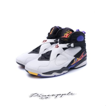 "Nike Air Jordan 8 Retro ""Three Peat"""