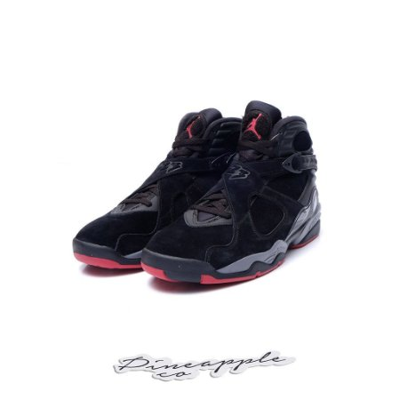 "Nike Air Jordan 8 Retro ""Black Cement"""