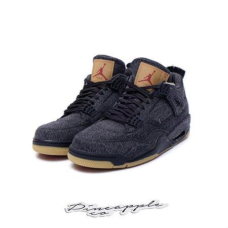 "Nike Air Jordan 4 Retro x Levis ""Black"""