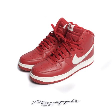 "Nike Air Force 1 High Nai Ke ""Gym Red"" (2015) -USADO-"