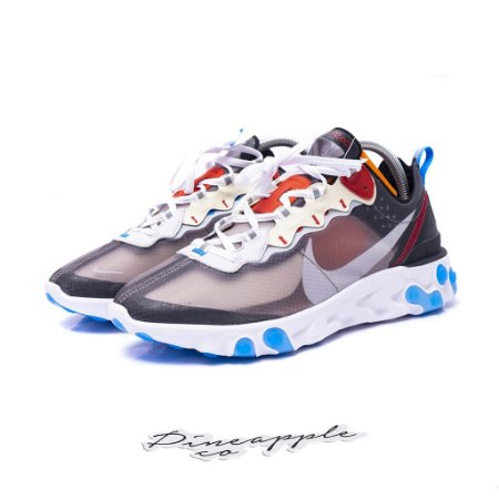 "Nike React Element 87 ""Dark Grey/Photo Blue"""