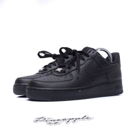 """Nike Air Force 1 Low """"Black"""" (WMNS)"""
