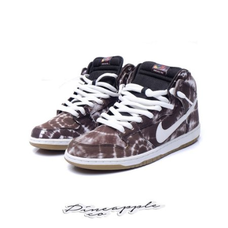 "Nike SB Dunk High Tie Dye ""Black"""
