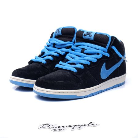 "Nike SB Dunk Mid ""Black/Orion Blue"""