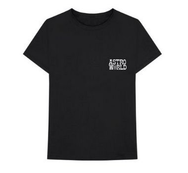 "Travis Scott - Camiseta Astroworld Promo ""Black"""