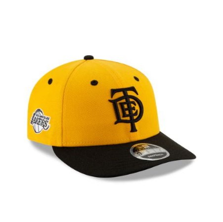 "New Era x TDE - Boné Los Angeles Lakers ""Yellow"""