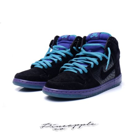 "Nike SB Dunk High ""Black Grape"""