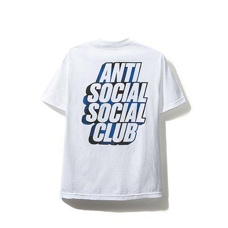 """ANTI SOCIAL SOCIAL CLUB - Camiseta Blocked Blue Plaid """"White"""""""
