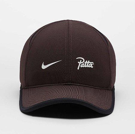 "Nike x Patta - Boné AeroBill Featherlight ""Brown"""