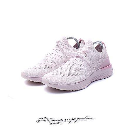 "Nike Epic React Flyknit ""Pearl Pink"""