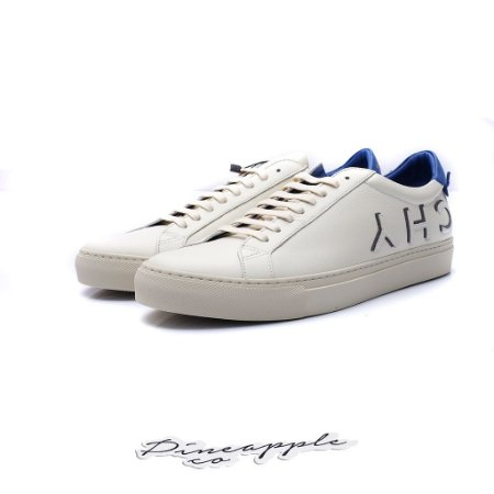 """Givenchy Urban Street Low-top Leather """"White/Blue"""""""
