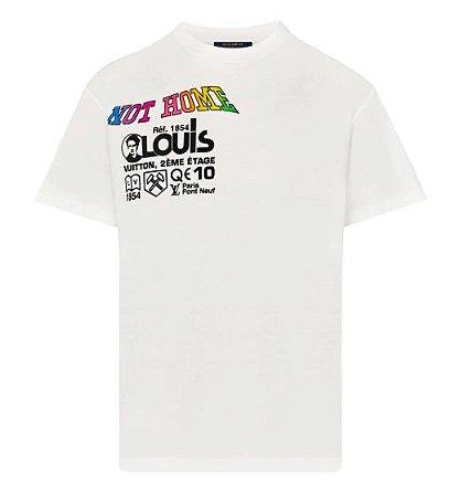 """LOUIS VUITTON - Camiseta Kansas Winds Printed """"White"""""""