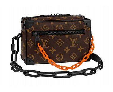 0c1066e4a8b ENCOMENDA - Louis Vuitton x Virgil Abloh s - Bolsa Mini Soft Trunk ...
