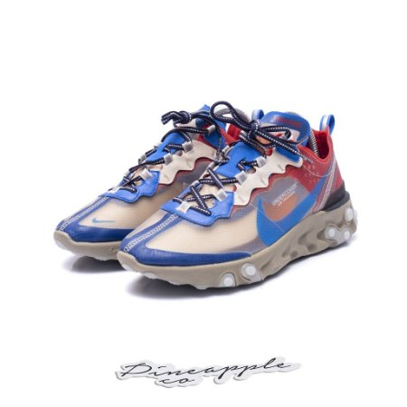 "Nike React Element 87 x Undercover ""Light Beige Chalk"" -NOVO-"
