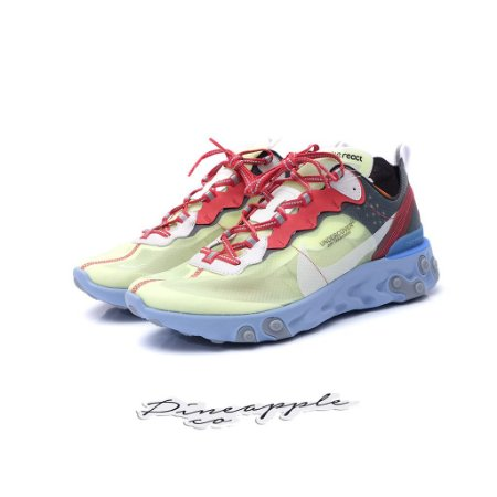 "Nike React Element 87 x Undercover ""Volt"""