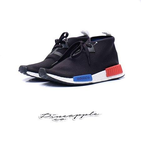 "adidas NMD C1 Chukka ""Core Black/Lush Red"""