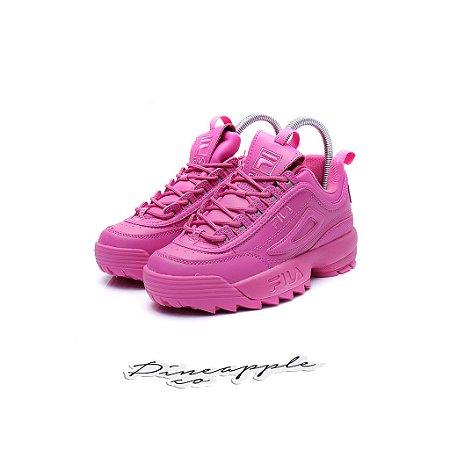 """Fila Disruptor 2 Mono Neon """"Pink"""""""