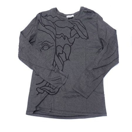"VERSACE - Camiseta Medusa ""Black/Grey"""