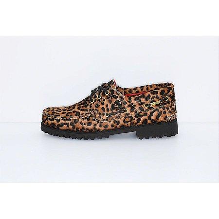 "ENCOMENDA - Supreme x Timberland 3-Eye Classic Lug ""Leopard"""
