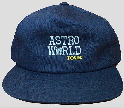 """TRAVIS SCOTT - Boné Astroworld Tour """"Blue"""""""