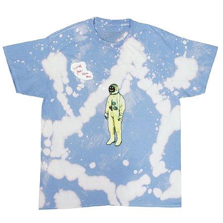 "TRAVIS SCOTT - Camiseta Astroworld Tour Astronaut  ""Tie Dye/Blue"""