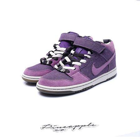 "Nike SB Dunk Mid x Dirty Money ""Purple Denim"""