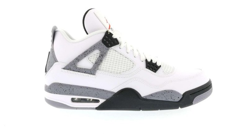 "Nike Air Jordan 4 Retro ""White Cement"" (2012) -NOVO-"