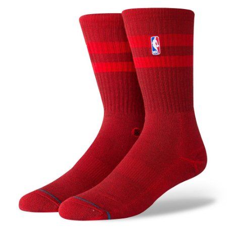 """STANCE - Meias NBA Hoven """"Red"""""""