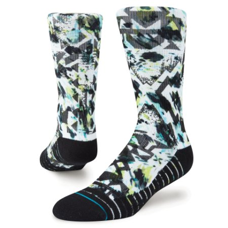 "STANCE - Meias Reverb Athletic ""Black/Green"""