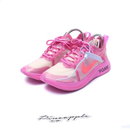 "Nike Zoom Fly x Off-White ""Tulip Pink"" -USADO-"