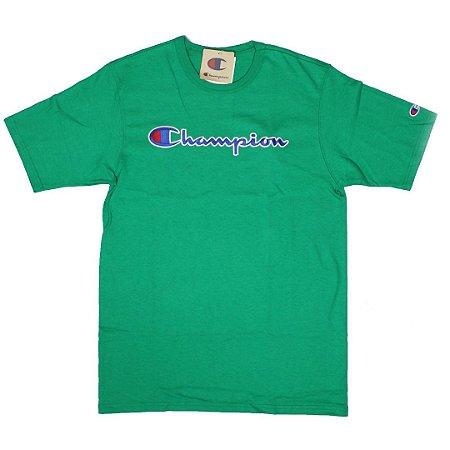 CHAMPION - Camiseta Script Patch Logo
