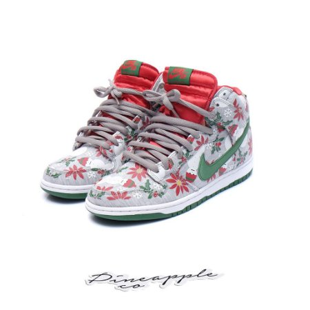 "Nike SB Dunk High x Concepts ""Ugly Christmas Sweater"""