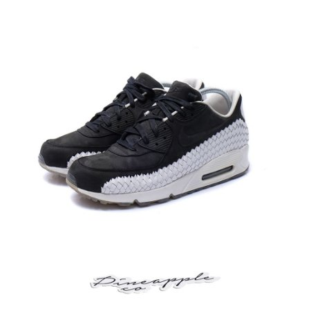 "Nike Air Max 90 Woven ""Black/White"""