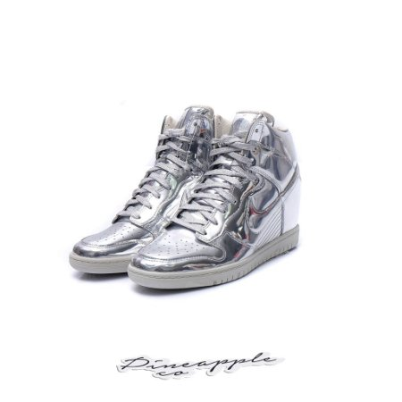 """Nike Dunk Sky Hi SP Liquid Metal """"Silver"""""""