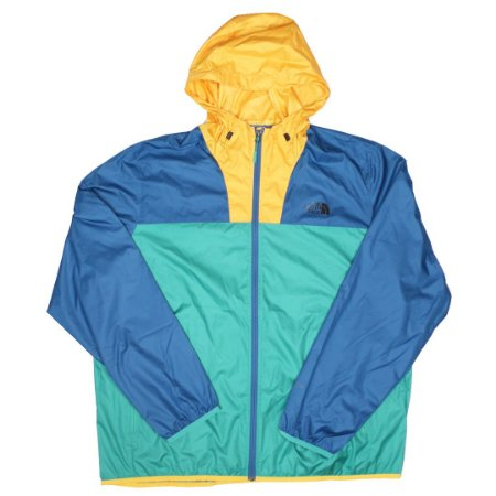 "The North Face - Jaqueta Resolve ""Yellow/Green/Blue"""