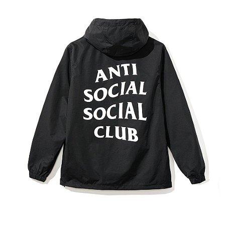 "ANTI SOCIAL SOCIAL CLUB - Jaqueta Mak Anorak ""Black"""