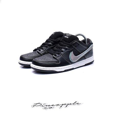 """Nike SB Dunk Low x Diamond Supply Co """"Black Diamond"""" -USADO-"""