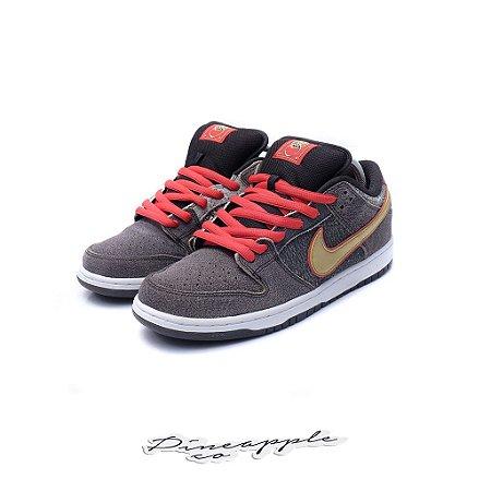 """Nike SB Dunk Low """"Beijing Metallic Gold"""""""